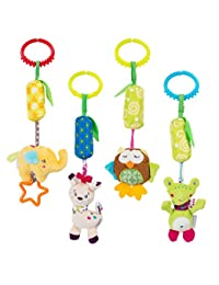 Baby Rattle Toy Kids Stroller Hanging Bell Puppet Handbells Baby Car Crib Stroller Toys Cute Wind Chime BOBEBE Online Baby Store From New York to Miami and Los Angeles