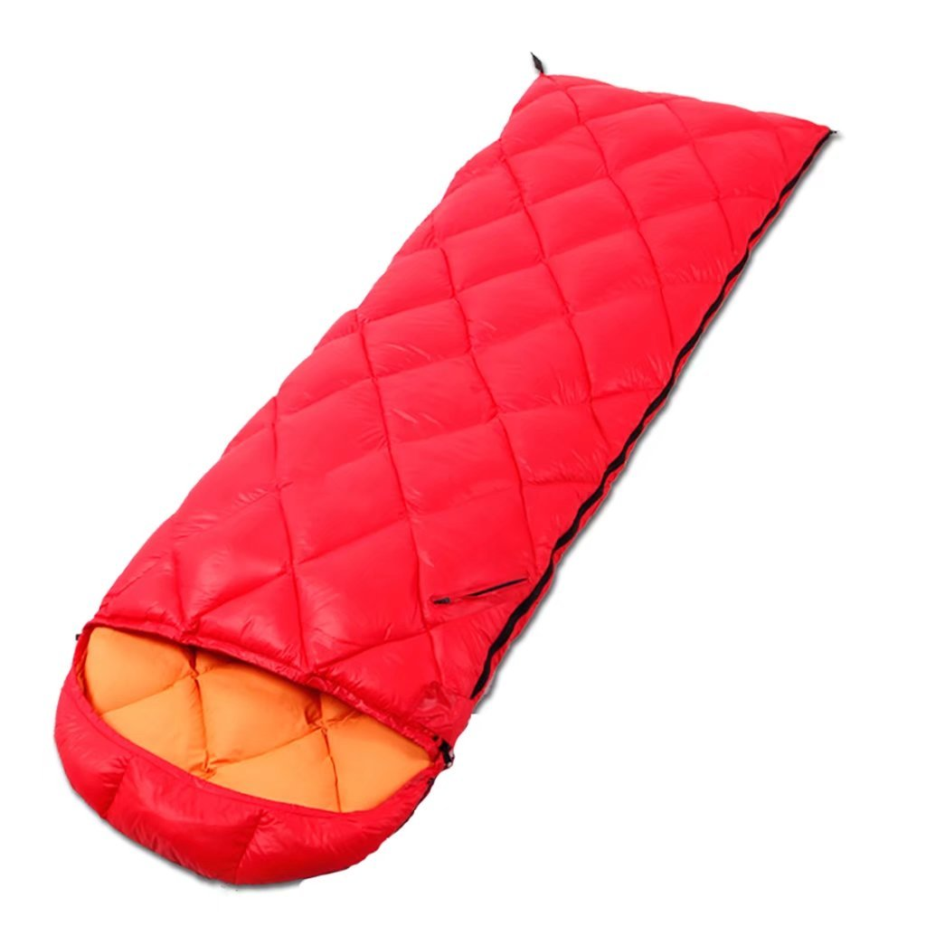 Sleeping Bags Adult Outdoor Down Envelopes Sleeping Bags Light Spring Autumn Duck Down Camping Thick Warm Lunch Bags