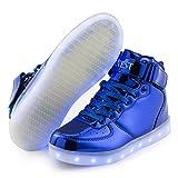 AFFINEST LED Light up Shoes Boys Girls High Top