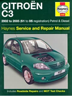 Citroen c3 workshop manual online