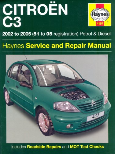 citroen c3 petrol and diesel service and repair manual 2002 to 2005 rh amazon com Citroen DS3 Citroen DS3