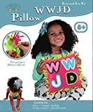 WWJD Pink Knot and Sew Kit, Best Kit on the Market for Children Crafts, that Reinforces What Would Jesus Do, This Sew and Stuff Activity is Ideal for Girls and Boys Ages 5-13 Years Old. by Zoey's Art