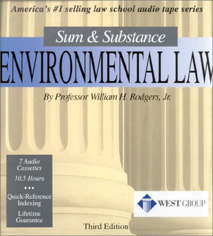 Environmental Law: Sum & Substance by Sum & Substance