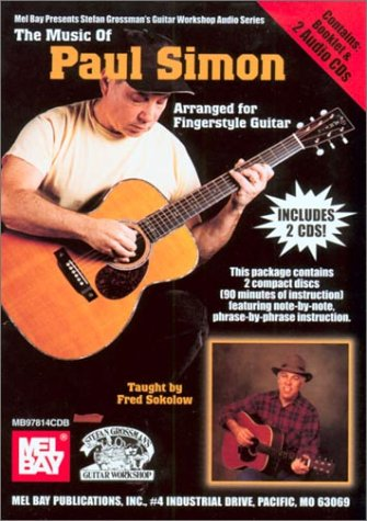 Read Online The Music of Paul Simon: Arranged for Fingerstyle Guitar PDF