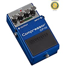 Boss CP-1X Compressor Pedal with 1 Year EverythingMusic Extended Warranty Free
