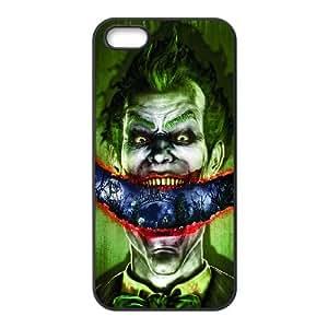 I0J11 comodín iPhone funda J8N8GU Batman Arkham Asylum 5 5s funda caja del teléfono celular cubren DG7CYG1TT negro