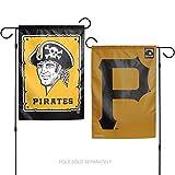 Stockdale Pittsburgh Pirates RETRO WC 26738117 GARDEN FLAG Premium 2-sided Banner Cooperstown Baseball