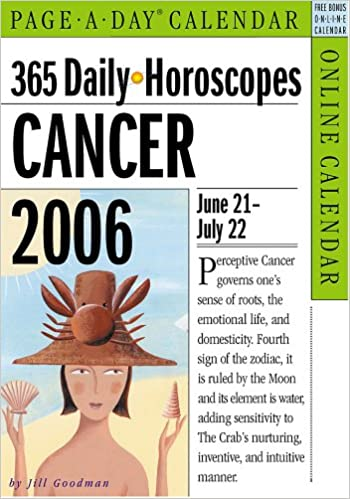 365 Daily Horoscopes Cancer 2006: Jill Goodman