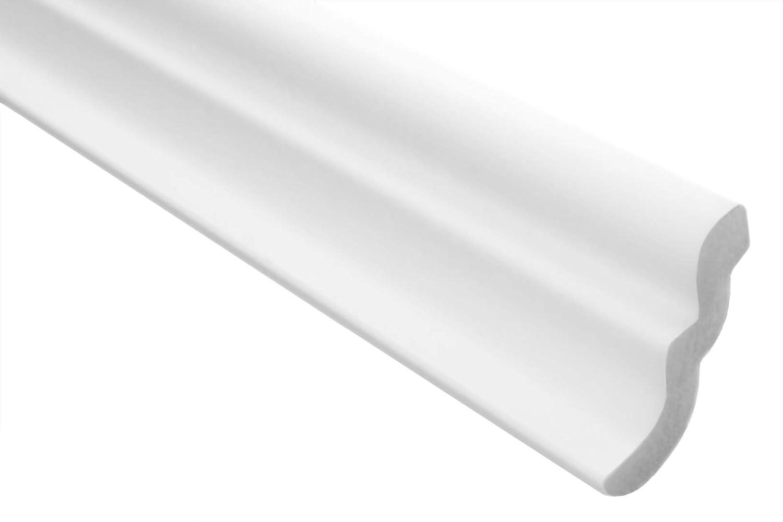 2 Meter Stuckleiste Xps Stabil Marbet 46x50mm E