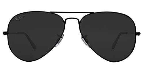 Amazon.com: New Ray Ban anteojos de sol RB3025 002/58 ...