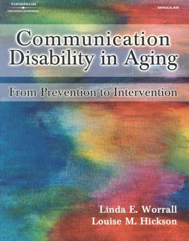 Communication Disability In Aging