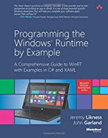 Programming the Windows Runtime by Example Front Cover