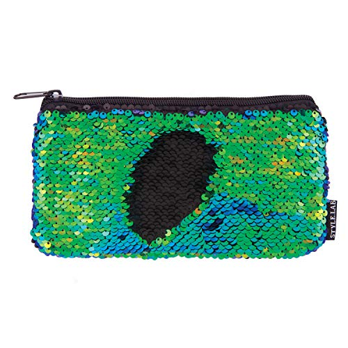 Fashion Angels Style.Lab Magic Mini Sequin Pouch - Mermaid/Iridescent -