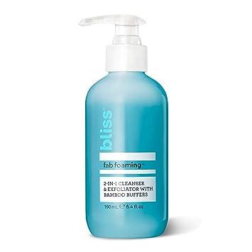 Amazon.com: Fabulosa espuma de limpieza facial Bliss: Bliss ...