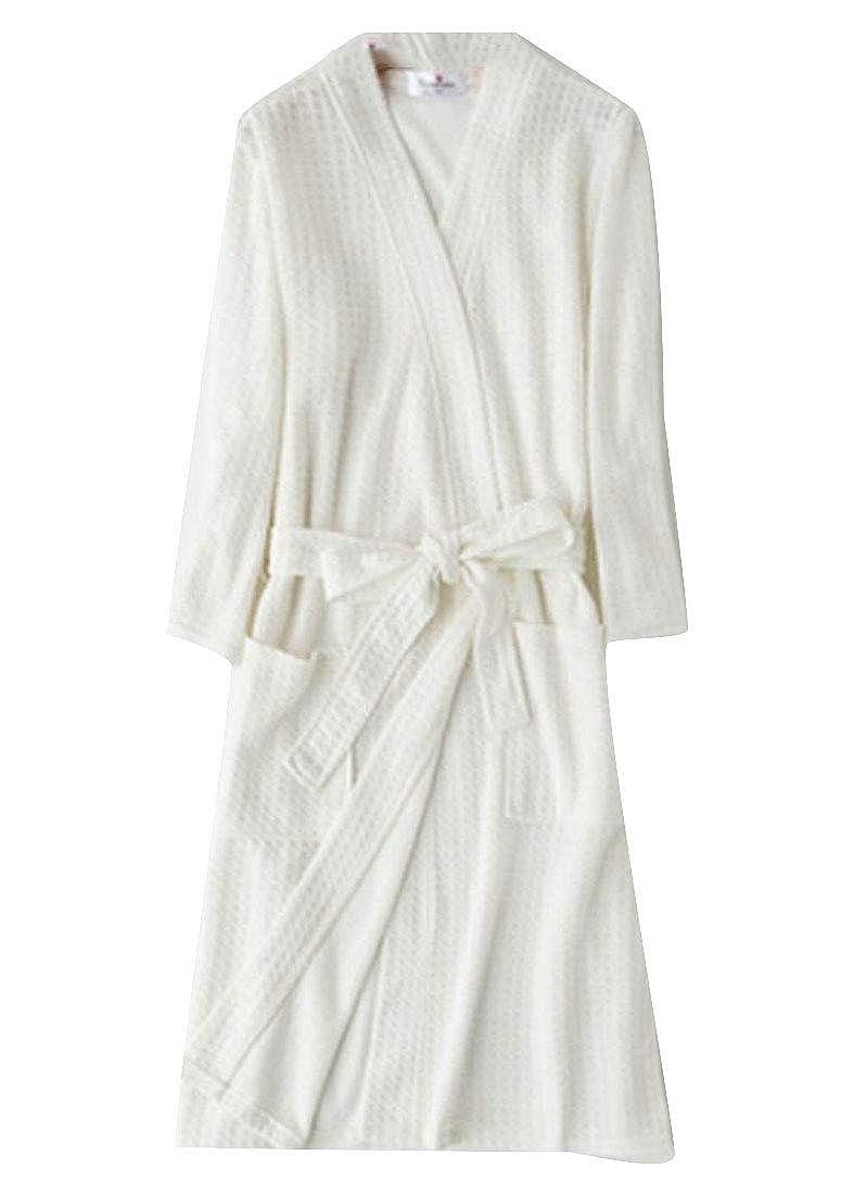 YYear Men Spa Sleepwear Robe Kimono Shawl Collar Nightgown Turkish Bathrobe