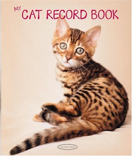 Celebrate your pet's one-of-a-kind personality with these adorable and enduring keepsake journals, by popular photographer Rachael Hale. MY CAT RECORD BOOK and MY DOG RECORD BOOK each offers a collection of 45 of the most endearing Rachael Hale anima...