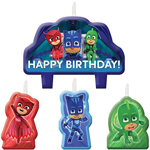 Amscan PJ Masks Candles Birthday