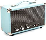 GPO SW158HBLU Westwood Vintage Bluetooth 25 Watt Speaker Blue