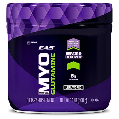 EAS Myoplex Glutamine Powder, Unflavored, 1.1 Pound