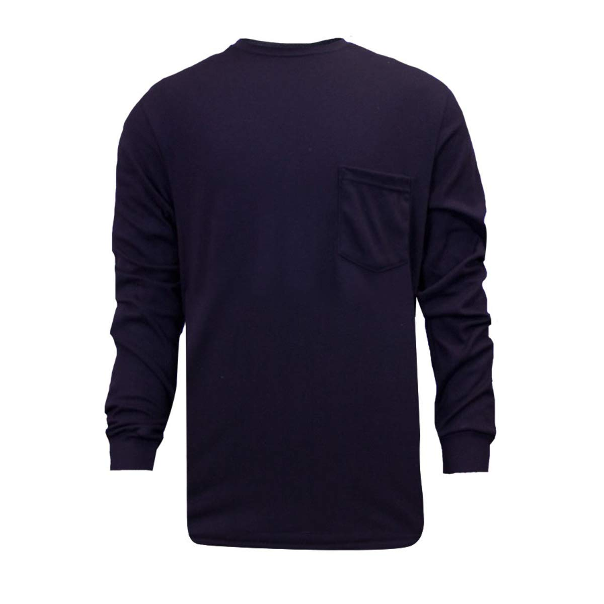 National Safety Apparel Large Navy Classic Cotton 12 cal/cm Flame Resistant Long Sleeve T-Shirt