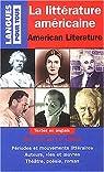 Littérature américaine par Lescanne
