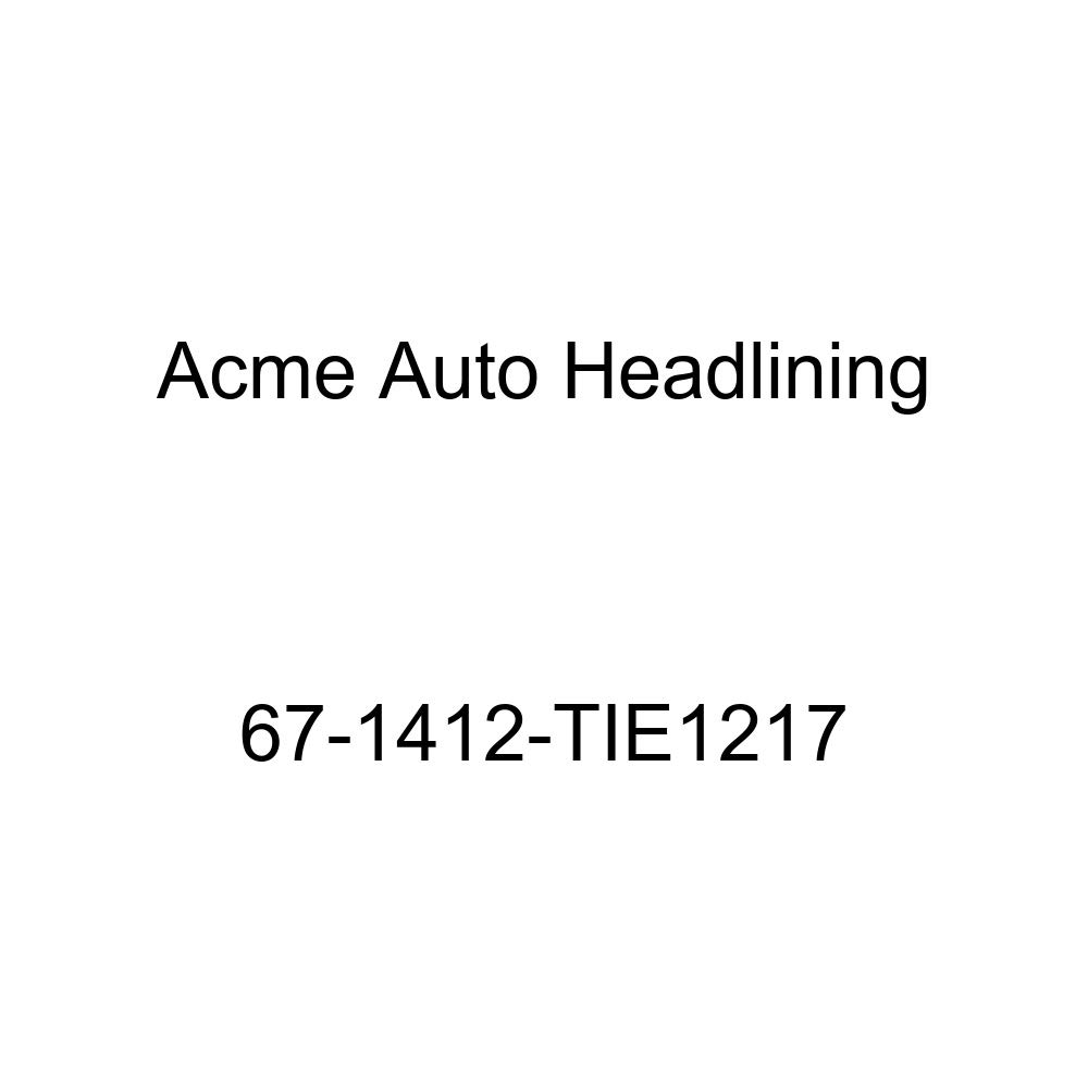 Acme Auto Headlining 67-1412-TIE1217 Ginger Replacement Headliner Chevrolet Caprice 2 Door Hardtop 6 Bow