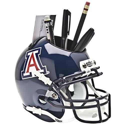 Desk Ncaa Wildcats (Schutt NCAA Arizona Wildcats Mini Helmet Desk Caddy)
