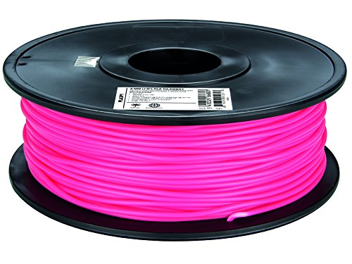 Velleman 3mm filament PLA pour imprimante 3D–Rose