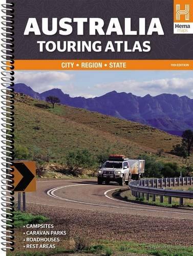 Australia touring atlas A4 2015: HEMA.A.045SP