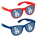 Amscan Los Angeles Dodgers Printed Glasses Party Supplies , Red/Blue, 60 Pieces