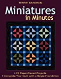Miniatures in Minutes, Terrie Sandelin, 1571205799