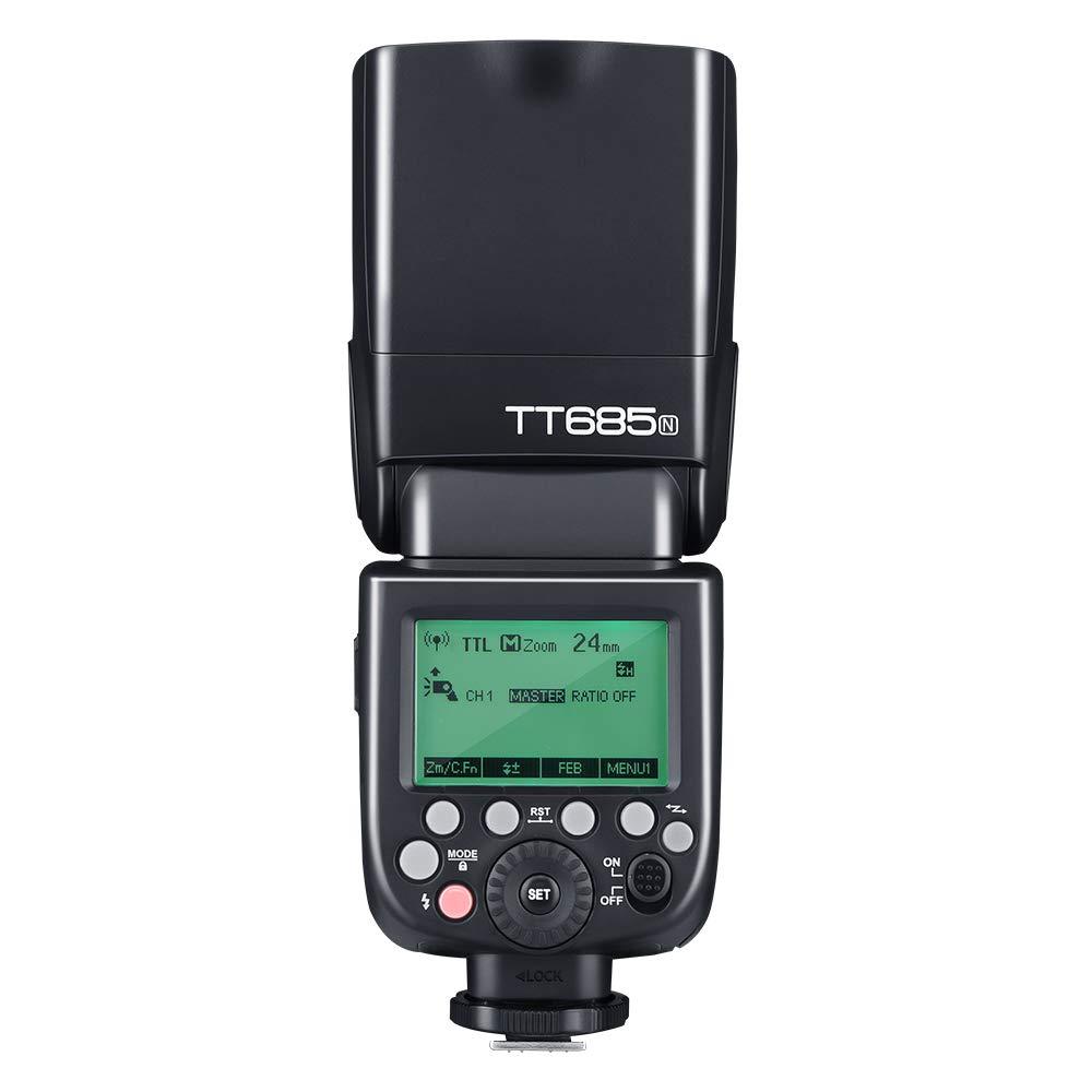Godox TT685N 2.4G HSS 1//8000s i-TTLGN60 Flash Speedlite inal/ámbrico para Nikon para D800 D700 D7100 D7000 D5200 D5000 D810