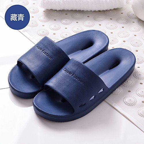 Leaks Anti Shoes Bath Blue 39 fankou from Bathroom Bottom of Water Home Summer Hole Female Slip Men's 40 Soft Exposed Hole Hole Dark The Vulnerability The Slippers Slippers wU8A7qx0U