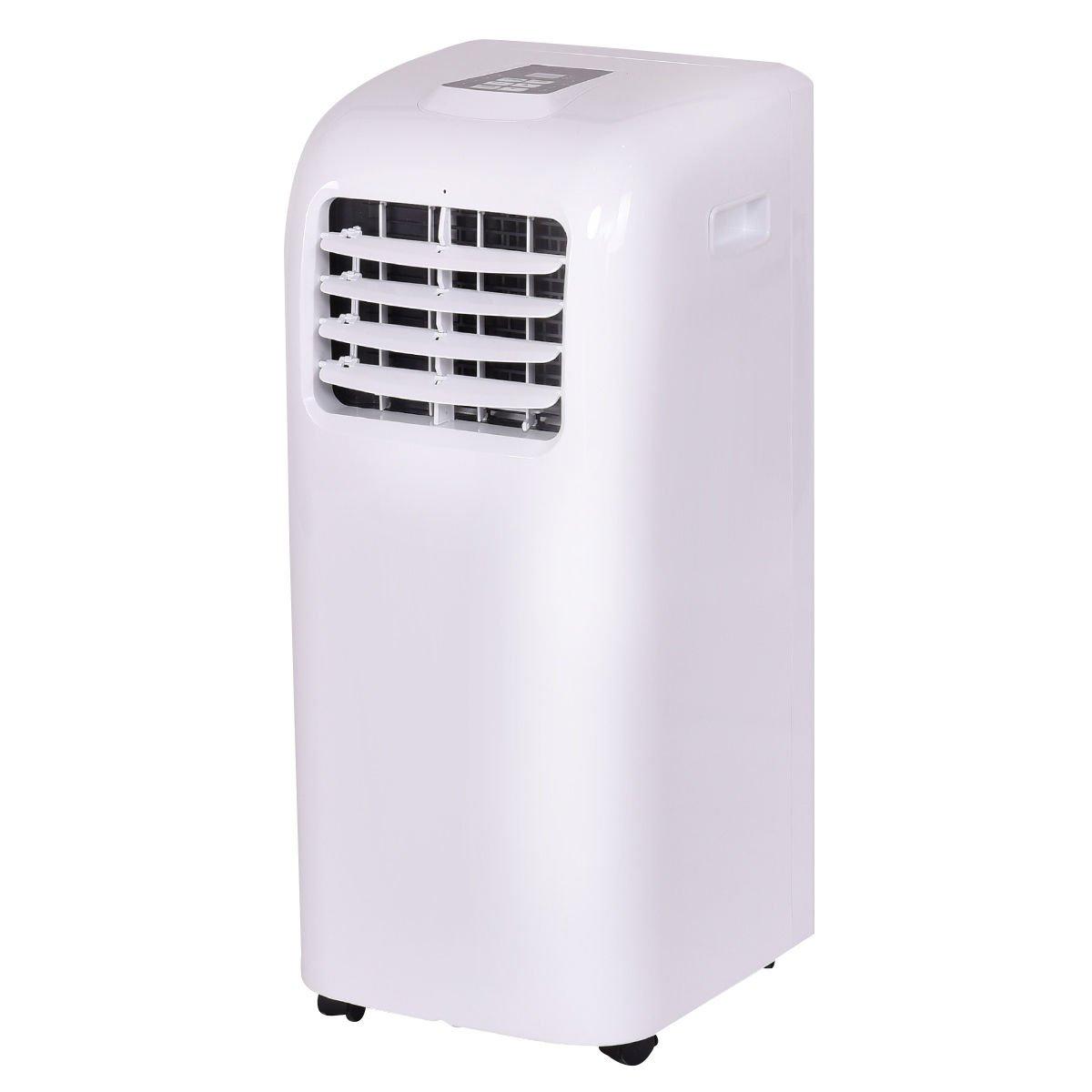 Costway 10,000 BTU Portable Air Conditioner Dehumidifier Function Window Wall Mount w/ Remote Control by COSTWAY