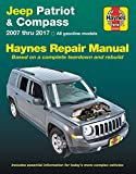 Jeep Patriot & Compass, '07-'17: Does not include information specific to diesel models (Haynes Automotive)