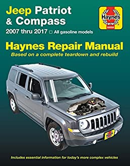 jeep patriot compass 07 17 does not include information rh amazon com 2009 Jeep Patriot Repair Manual Black Jeep Patriot
