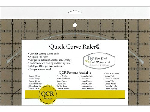 Sew Kind of Wonderful SKW50570 Qcr Ruler Quick Curve Ruler by Sew Kind of Wonderful