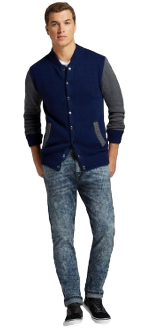 Modern Threads by Well Versed Men's Skinny Fit Jeans (28X30, Indigo Acid) by Modern Threads by Well Versed (Image #4)