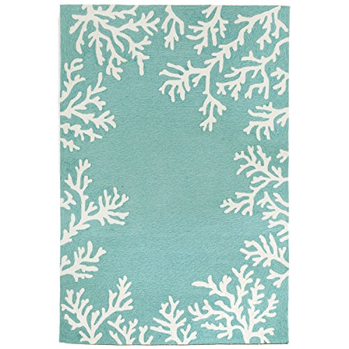 Liora Manne CA046A71604 Monaco Shell Border Rug, Indoor/Outdoor, 42