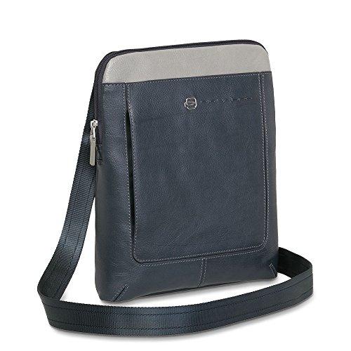 Piquadro colori A1358 Ipad Pelle Vibe N Borsello Grigio Blu vari Porta 1FrqxHO1