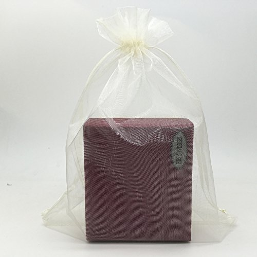 SUNGULF 100pcs Organza Pouch Bag Drawstring 6