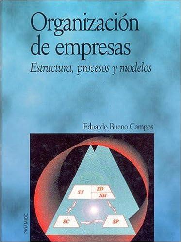 Organizacion De Empresas Business Organization Estructura