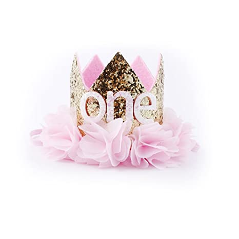 Amazon.com: Colegiala primer cumpleaños 1st flor Priness ...