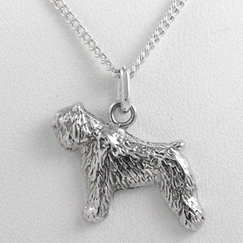 Fine Arf Bouvier des Flandres Charm Necklace ()