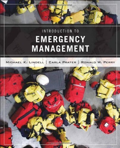 Introduction to Emergency Management: 1st (First) Edition