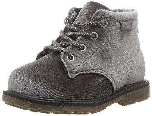 Oshkosh B'Gosh  Girls' Tlc Velvet Ankle Fashion Boot, Grey, 7 M US Toddler