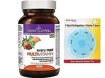 Nuevo capitulo todos los hombres, los hombres de multivitaminas fermentados con probióticos selenio B vitaminas