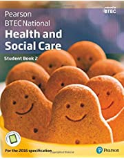 BTEC National Health and Social Care Student Book 2: For the 2016 specifications (BTEC Nationals Health and Social Care 2016)