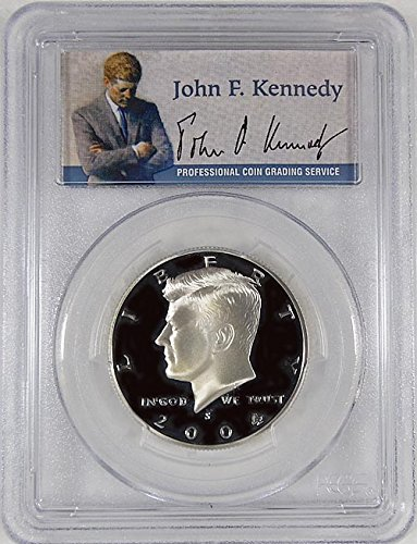2004 S Kennedy S Silver Proof Portrait Label Holder Half Dollar PR-69 PCGS DCAM