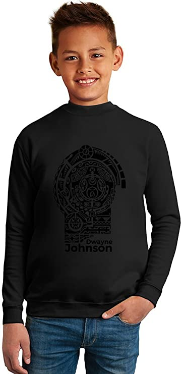 Dwayne Johnson Tattoo Superb Quality Boys Sweater by TRUE FANS ...